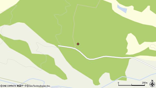山形県東置賜郡川西町朴沢2514周辺の地図