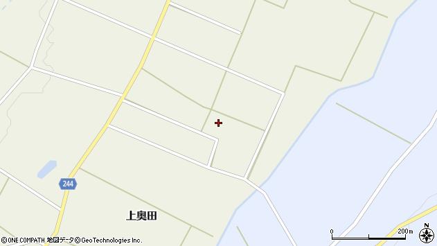 山形県東置賜郡川西町上奥田4143周辺の地図