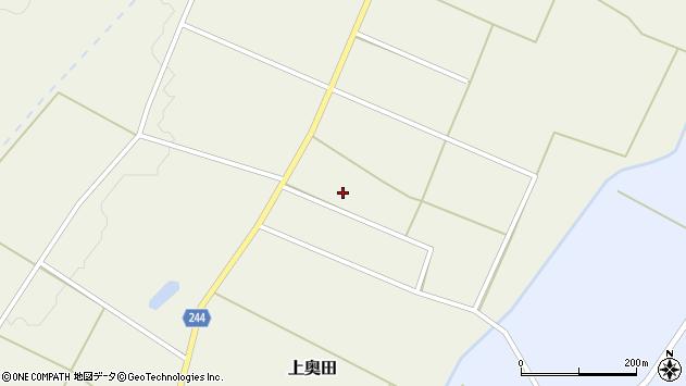 山形県東置賜郡川西町上奥田4161周辺の地図