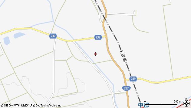 山形県東置賜郡川西町時田133周辺の地図