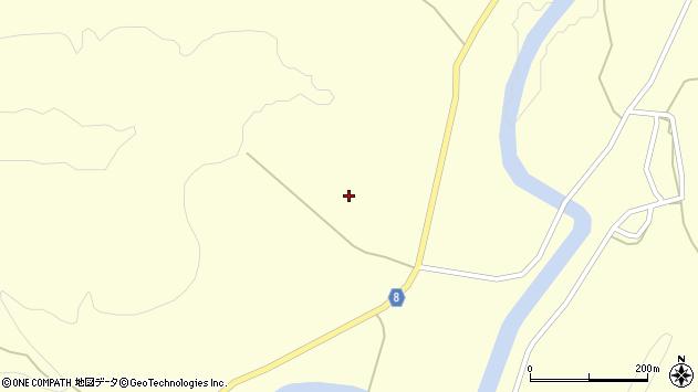 山形県東置賜郡川西町朴沢松ノ木周辺の地図