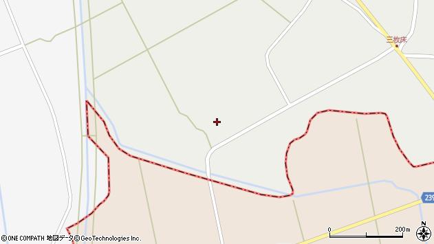 山形県東置賜郡川西町堀金246周辺の地図
