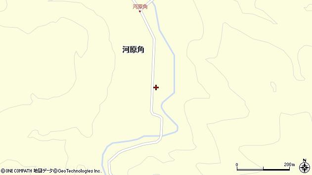 山形県西置賜郡小国町河原角188周辺の地図