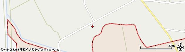 山形県東置賜郡川西町堀金167周辺の地図