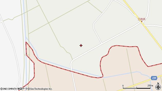山形県東置賜郡川西町堀金253周辺の地図