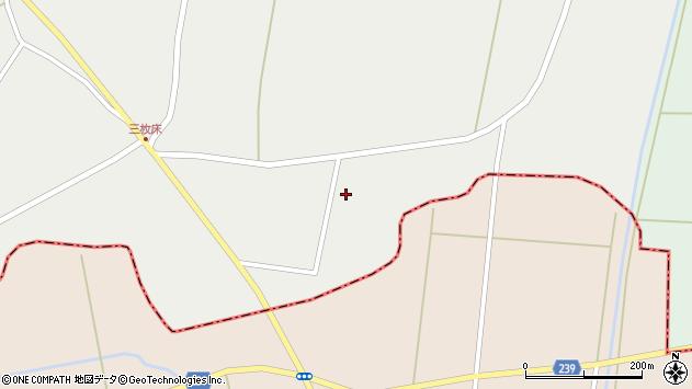 山形県東置賜郡川西町堀金388周辺の地図
