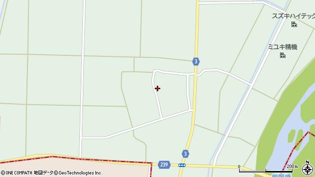 山形県東置賜郡川西町尾長島487周辺の地図
