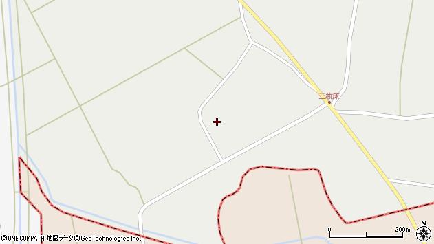 山形県東置賜郡川西町堀金180周辺の地図
