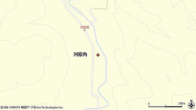 山形県西置賜郡小国町河原角205周辺の地図