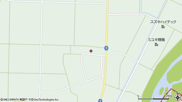 山形県東置賜郡川西町尾長島909周辺の地図