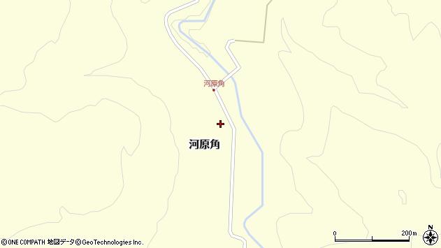 山形県西置賜郡小国町河原角180周辺の地図