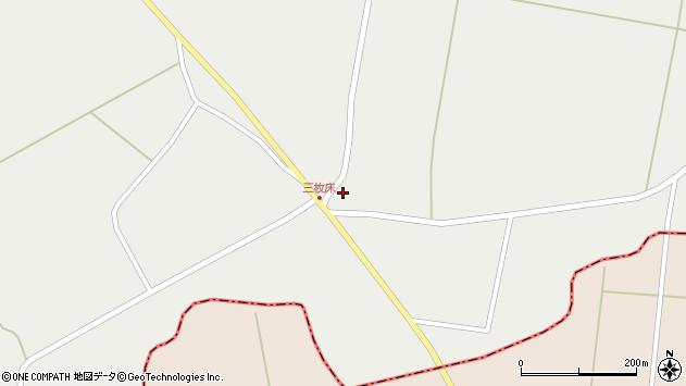 山形県東置賜郡川西町堀金351周辺の地図