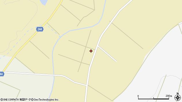 山形県東置賜郡川西町下奥田3954周辺の地図