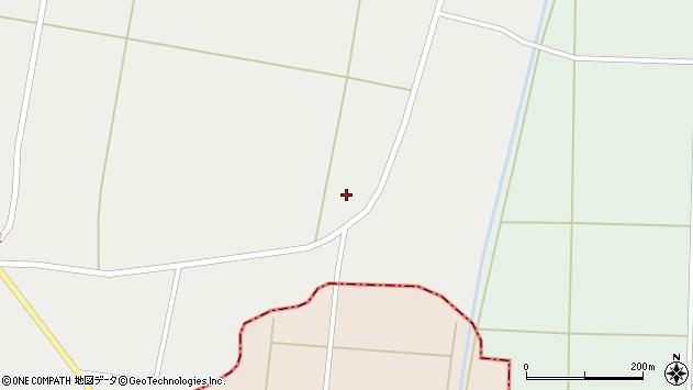 山形県東置賜郡川西町堀金464周辺の地図