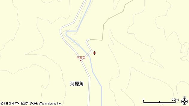 山形県西置賜郡小国町河原角136周辺の地図
