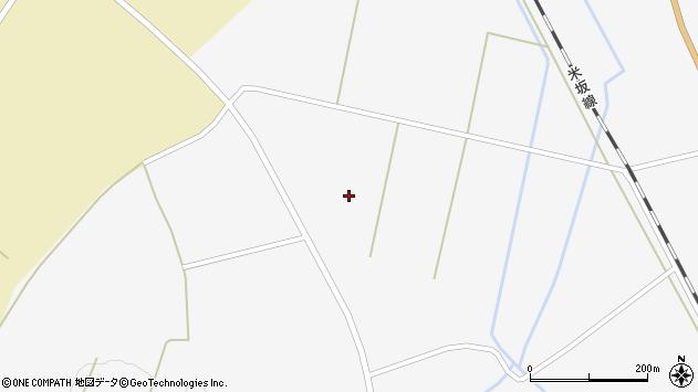 山形県東置賜郡川西町時田2321周辺の地図