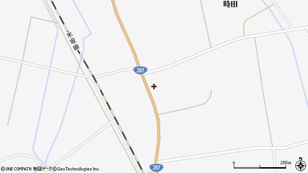 山形県東置賜郡川西町時田1359周辺の地図