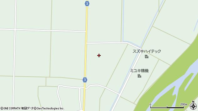 山形県東置賜郡川西町尾長島1210周辺の地図