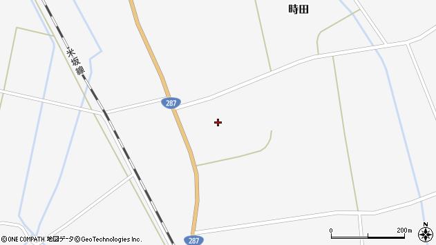 山形県東置賜郡川西町時田1386周辺の地図