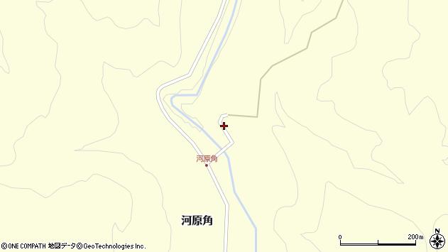 山形県西置賜郡小国町河原角79周辺の地図