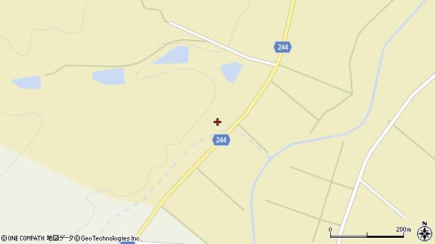 山形県東置賜郡川西町下奥田3487周辺の地図