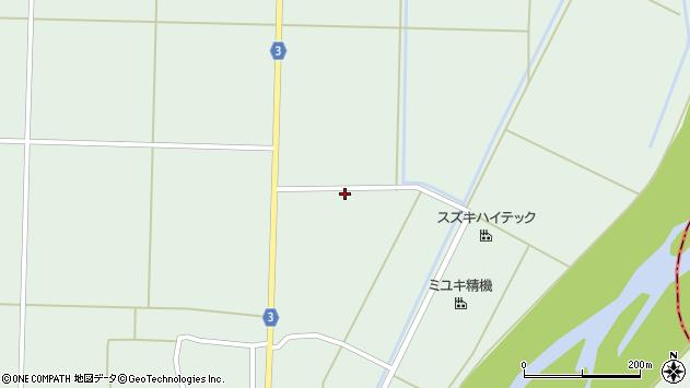 山形県東置賜郡川西町尾長島1176周辺の地図