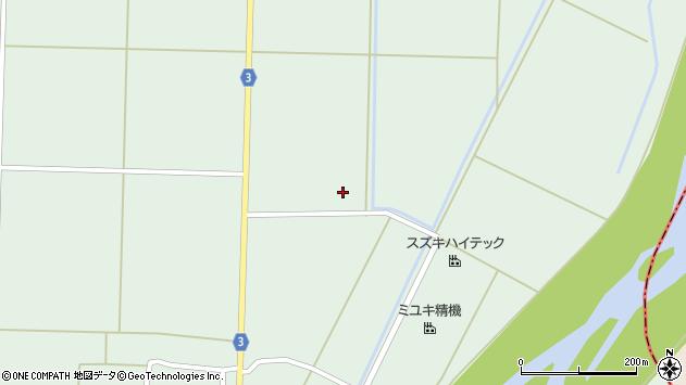 山形県東置賜郡川西町尾長島1961周辺の地図
