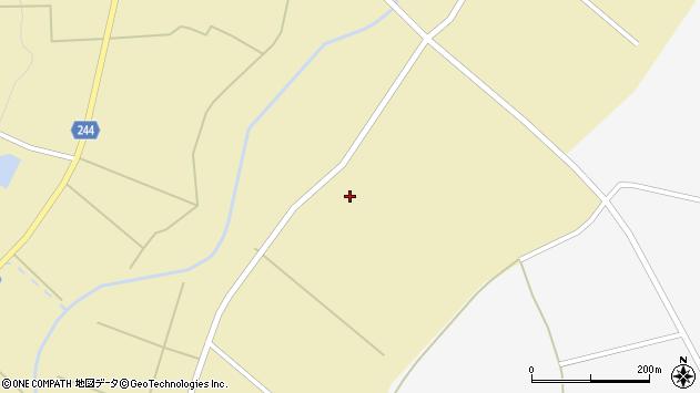 山形県東置賜郡川西町下奥田1629周辺の地図