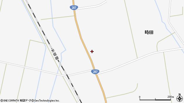 山形県東置賜郡川西町時田1325周辺の地図