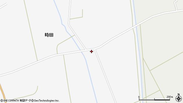 山形県東置賜郡川西町時田551周辺の地図