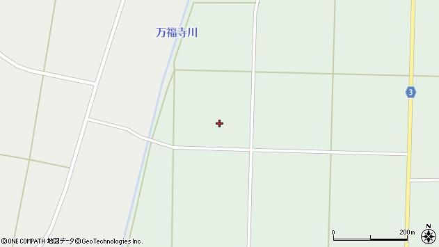 山形県東置賜郡川西町尾長島橋本周辺の地図