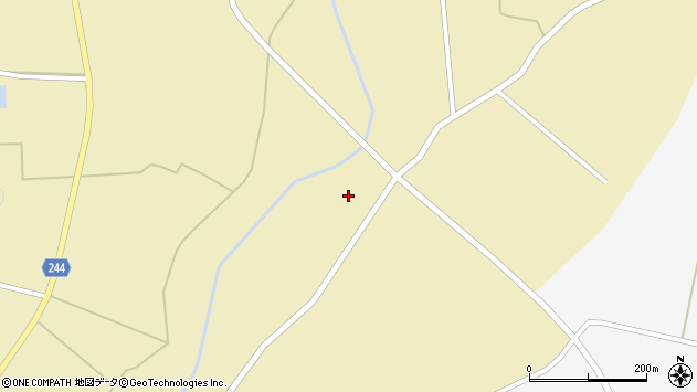 山形県東置賜郡川西町下奥田1287周辺の地図
