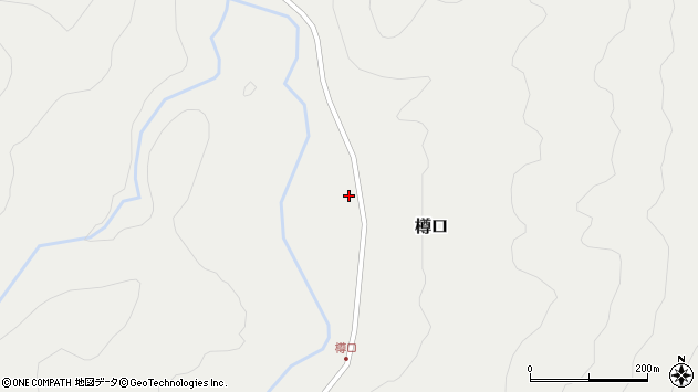 山形県西置賜郡小国町樽口106周辺の地図