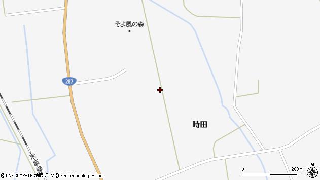 山形県東置賜郡川西町時田1570周辺の地図