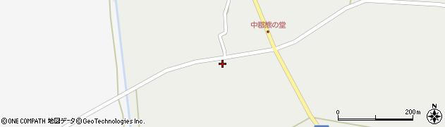山形県東置賜郡川西町堀金1057周辺の地図