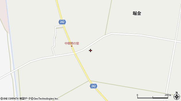 山形県東置賜郡川西町堀金1199周辺の地図