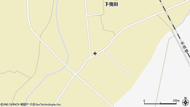 山形県東置賜郡川西町下奥田1330周辺の地図