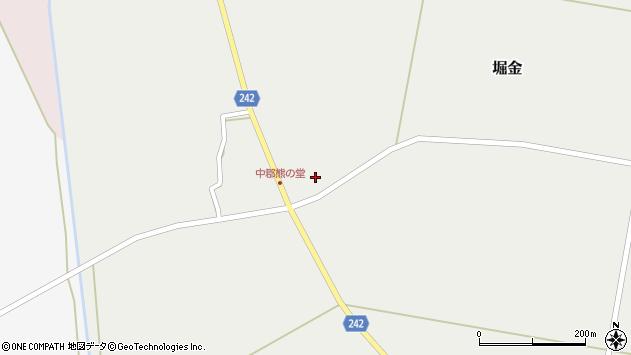 山形県東置賜郡川西町堀金1176周辺の地図