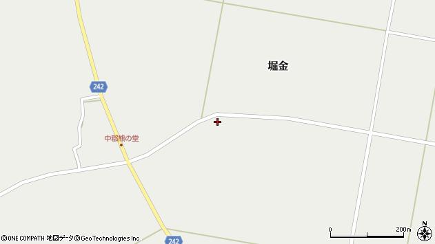 山形県東置賜郡川西町堀金1555周辺の地図