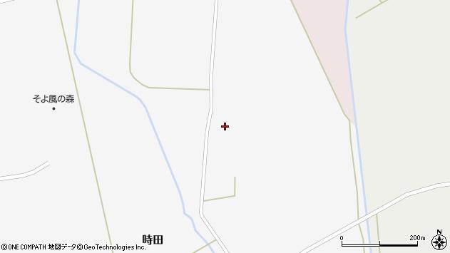 山形県東置賜郡川西町時田1677周辺の地図