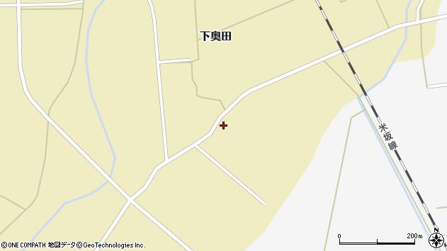山形県東置賜郡川西町下奥田1549周辺の地図