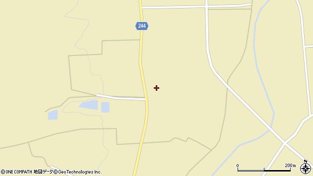 山形県東置賜郡川西町下奥田1108周辺の地図