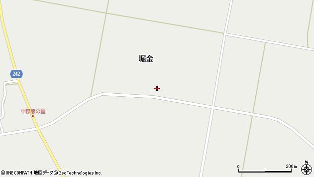 山形県東置賜郡川西町堀金1510周辺の地図