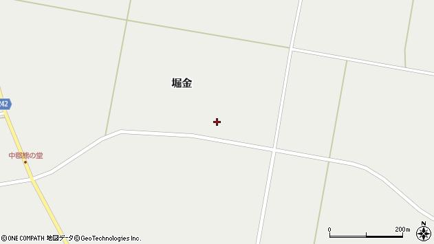 山形県東置賜郡川西町堀金1508周辺の地図