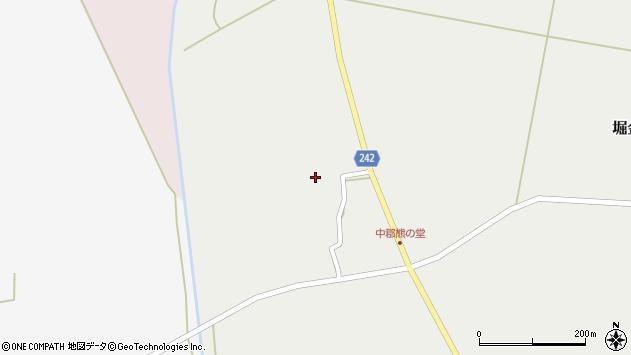 山形県東置賜郡川西町堀金1650周辺の地図