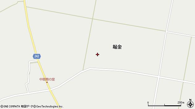 山形県東置賜郡川西町堀金1550周辺の地図