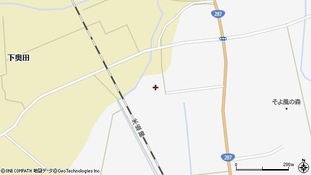 山形県東置賜郡川西町時田1047周辺の地図