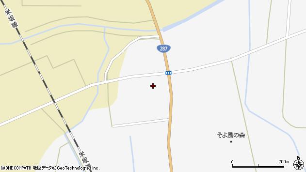 山形県東置賜郡川西町時田1069周辺の地図