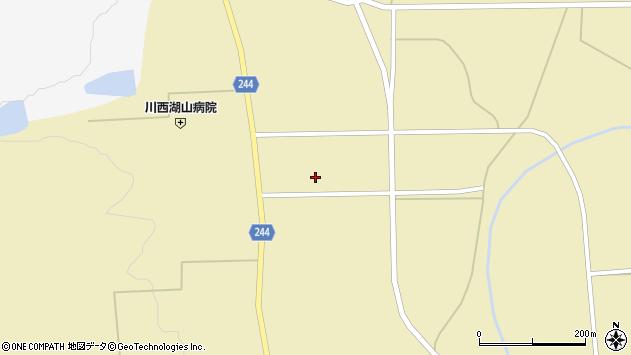 山形県東置賜郡川西町下奥田1034周辺の地図