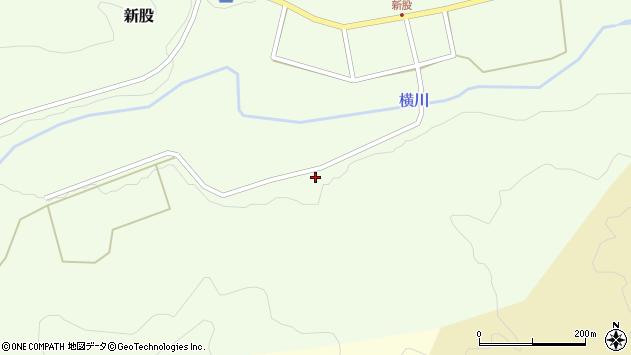 山形県西置賜郡小国町新股336周辺の地図